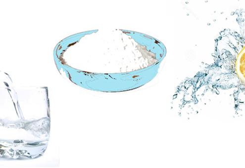 Λεμόνι σόδα νερό